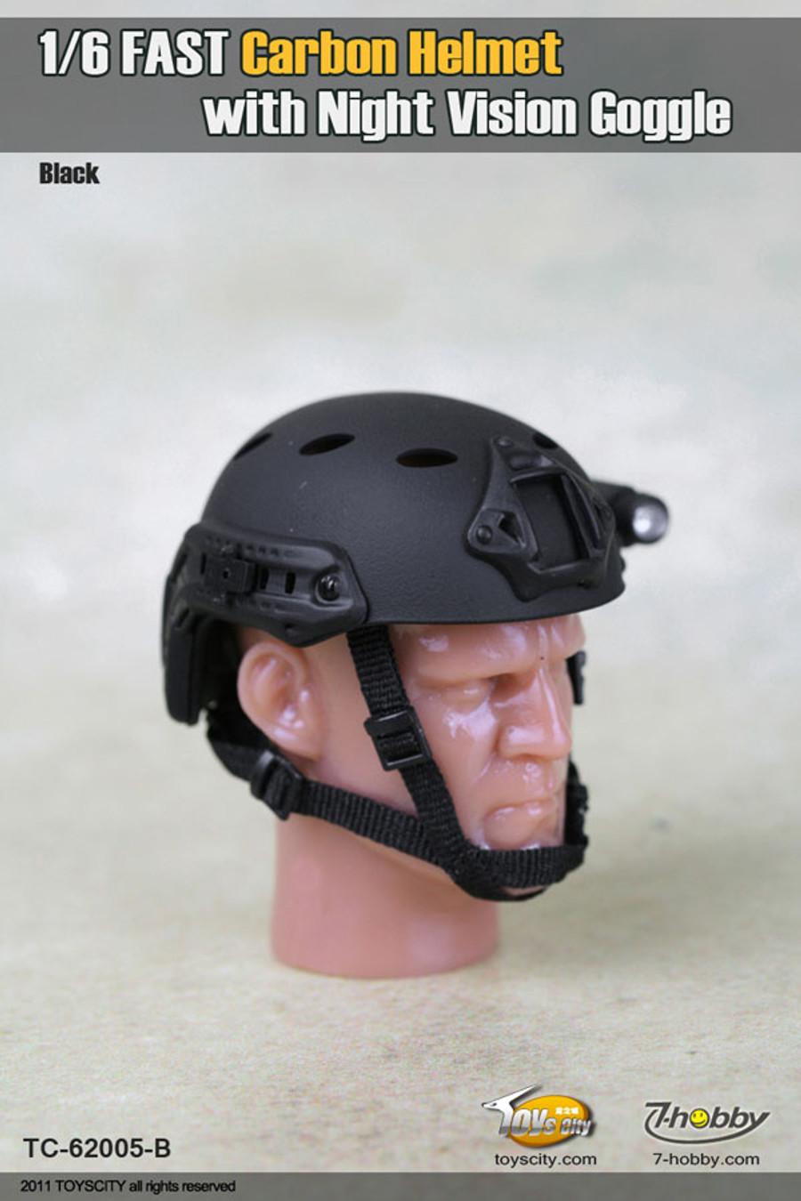 Toys City - Fast Carbon Helmet - Black