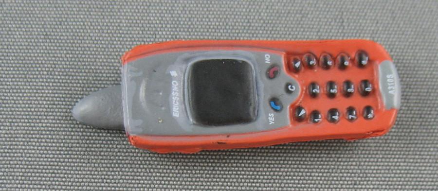 ZC World - Cellphone - Orange & Silver