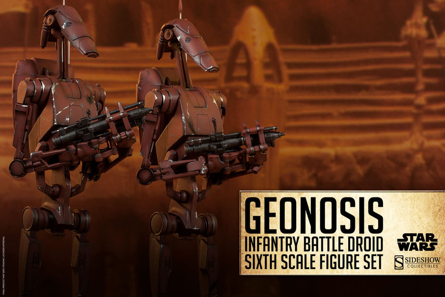 Sideshow - Star Wars - Geonosis Infantry Battle Droids