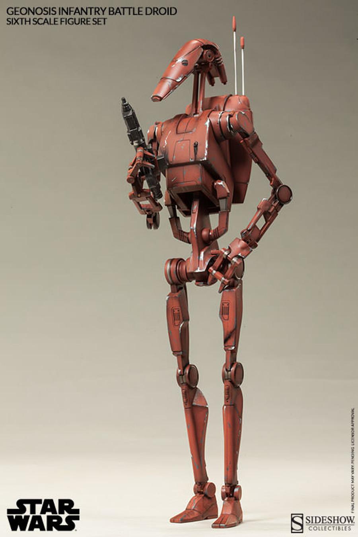 Sideshow - Star Wars - Geonosis Infantry Battle Droids