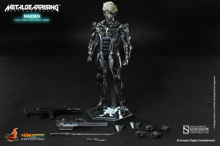 Hot Toys - Metal Gear Rising: Revengeance - Raiden