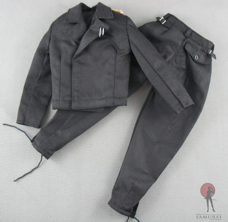 3R - Uniform Set - Panzer - Tunic & Trousers - Black