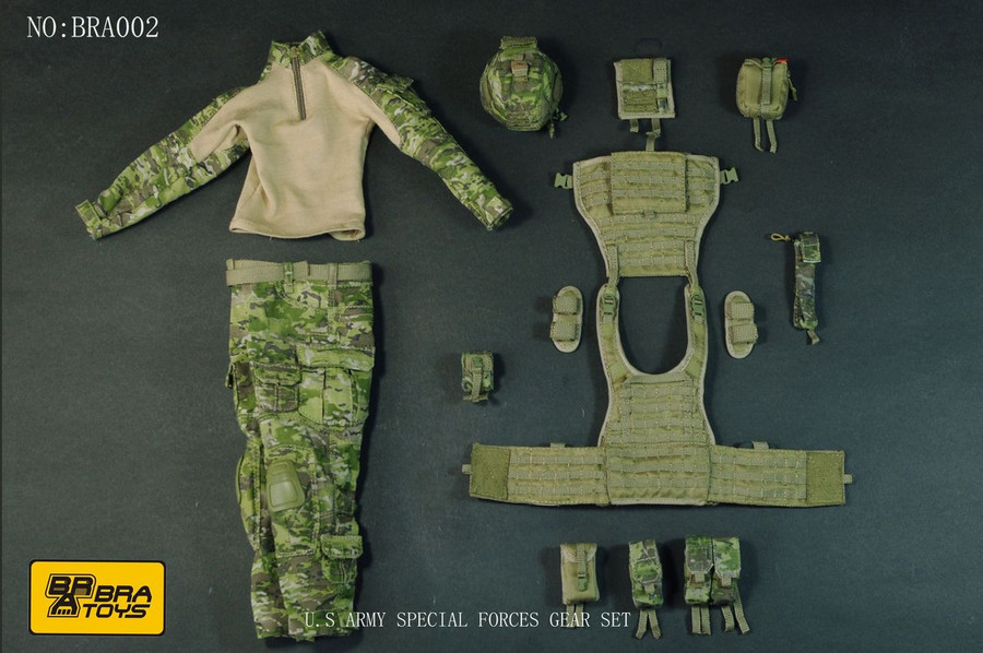 BRA Toys - Special Forces Ranger Gear Set