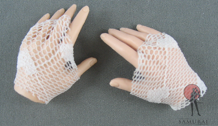 Phicen - Gloves - Lace - White