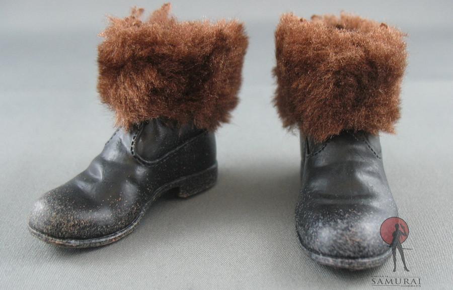 COO Model - Winter Boot - Brown Fur - Black