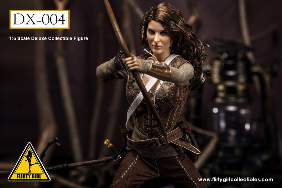 Flirty Girl - DX-004 - Bow Warrior