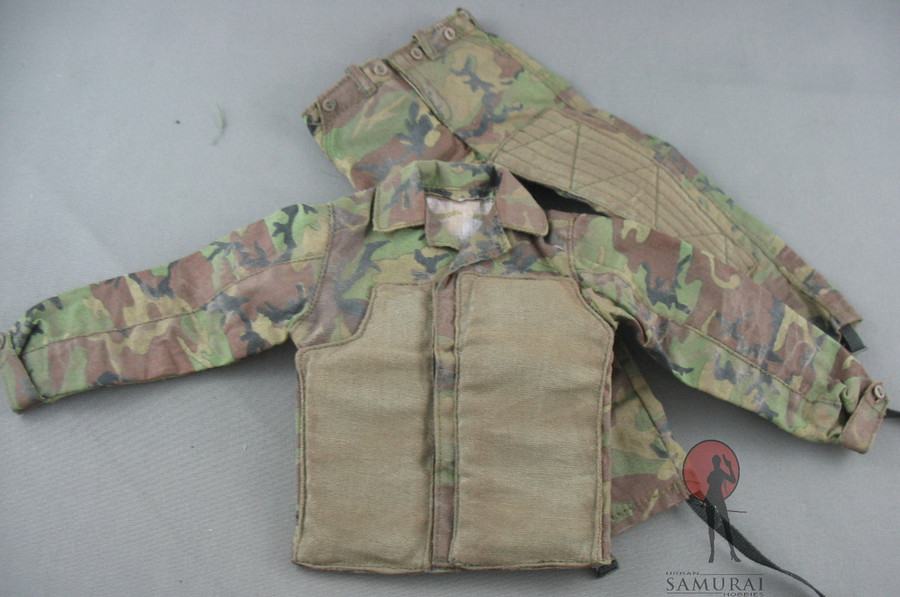 DAM - Uniform Set - NATO Woodlands Camo With Stiched Padding