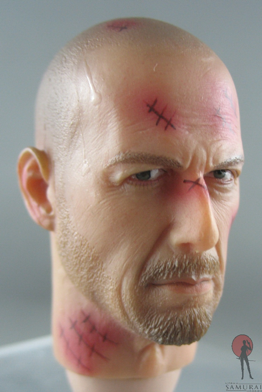 Toysland - Head - Law Enforcer Bald (Wounded)