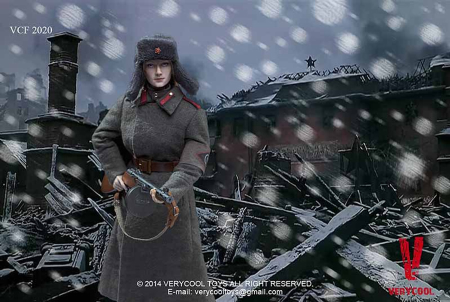 Very Cool - Soviet Red Army Female Soldier