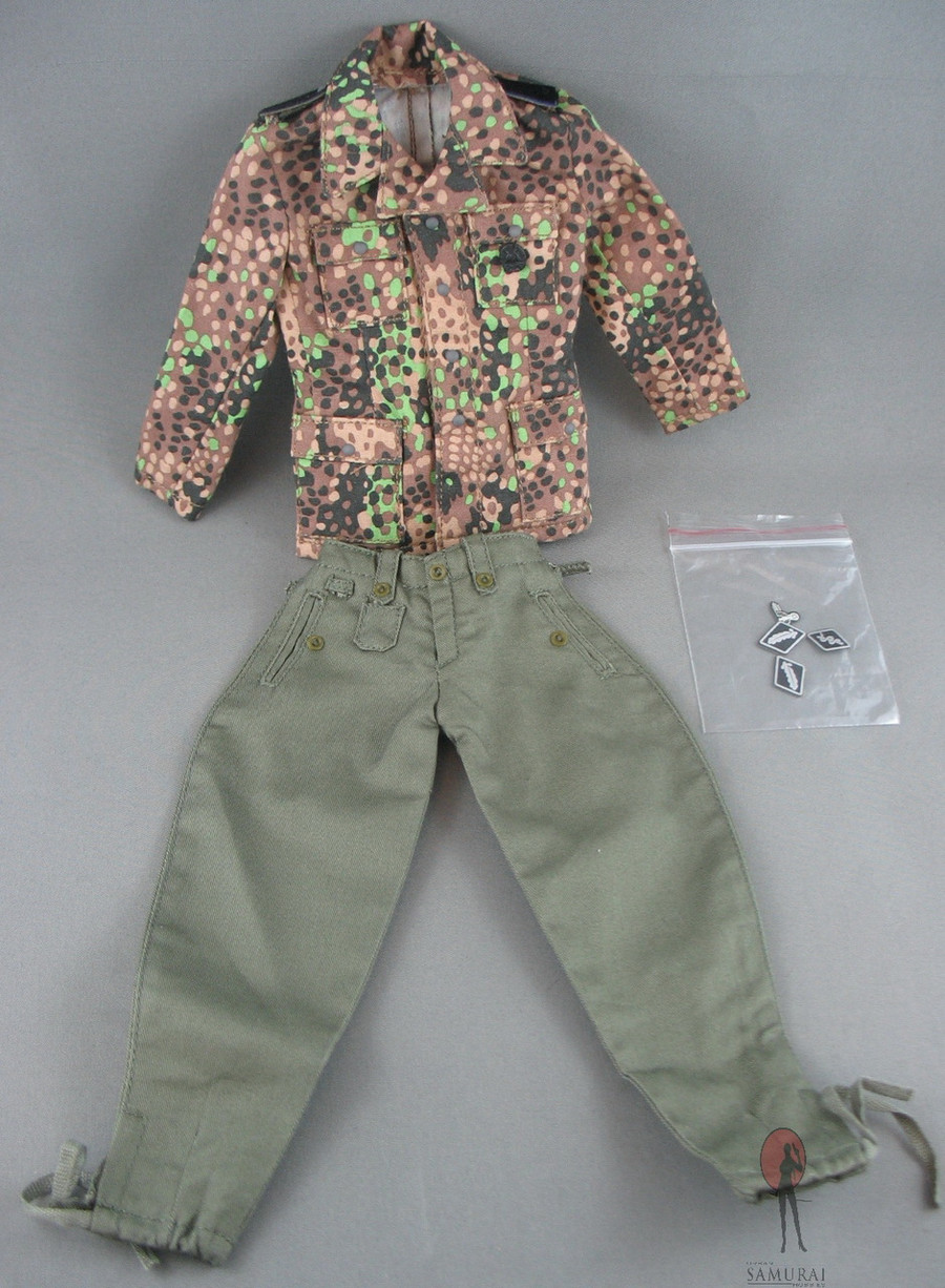 DID - Uniform Set - Fallschirmjäger Fall Camo - Green Fatigues