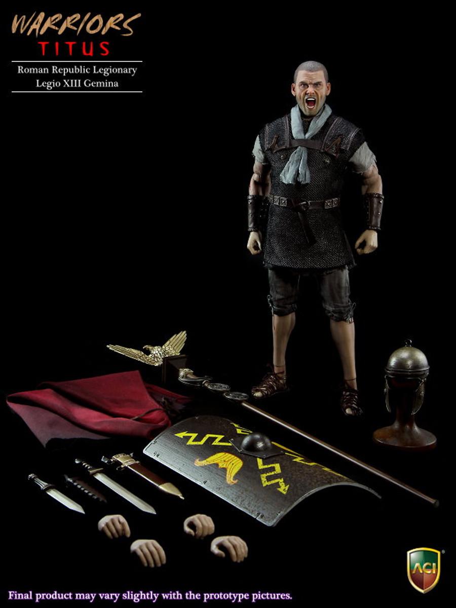 ACI Toys 1/6 Roman Republic Legionary - Titus Legio XIII