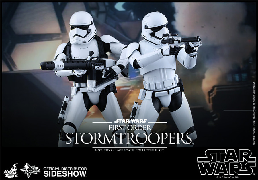 Hot Toys - Star Wars: The Force Awakens - First Order Stormtroopers (2 Figures)