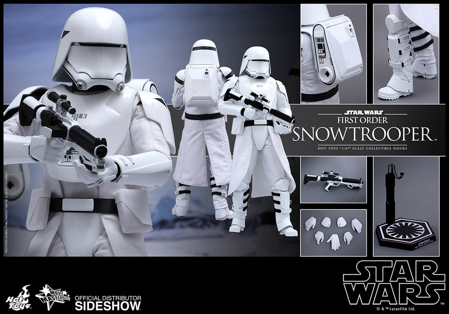 Hot Toys - Star Wars: The Force Awakens - First Order Snowtrooper