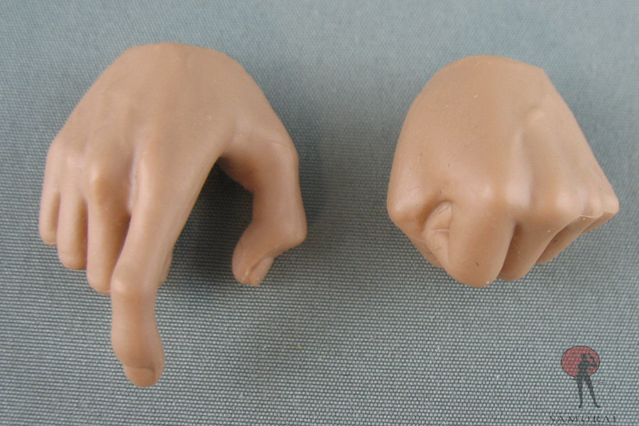 Other - Hands - Right Hand Trigger - Left Hand Fist - Caucasian