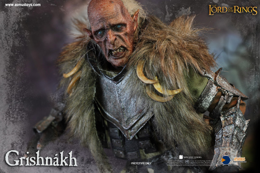 Asmus Toys - The Lord of the Rings Series: Grishnakh