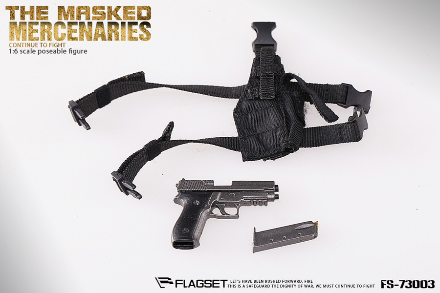 Flagset - The Masked Mercenaries Continue To Fight