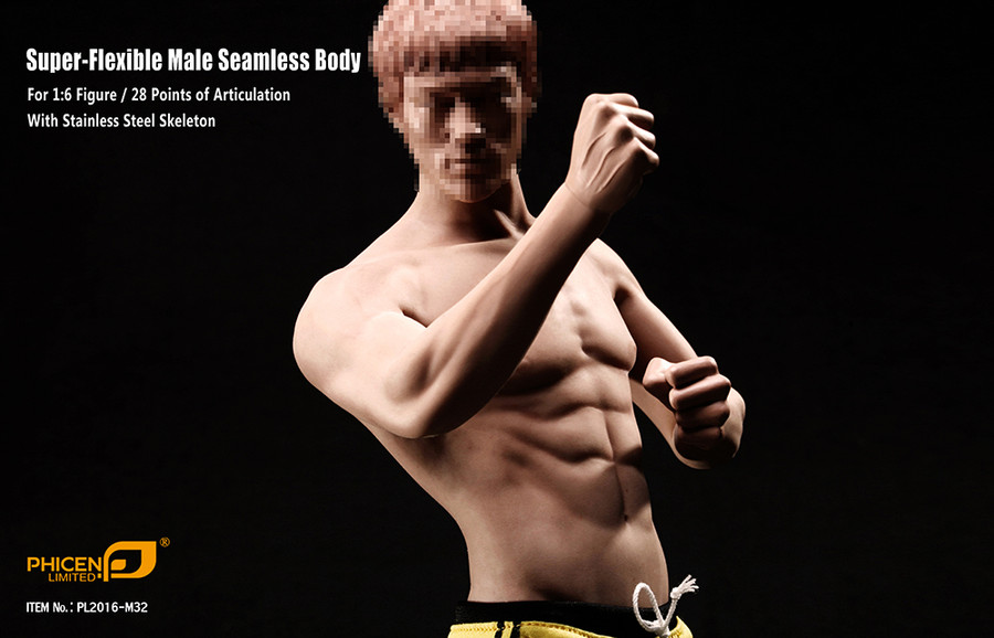 Phicen - Super Flexible Asia Male Seamless Body
