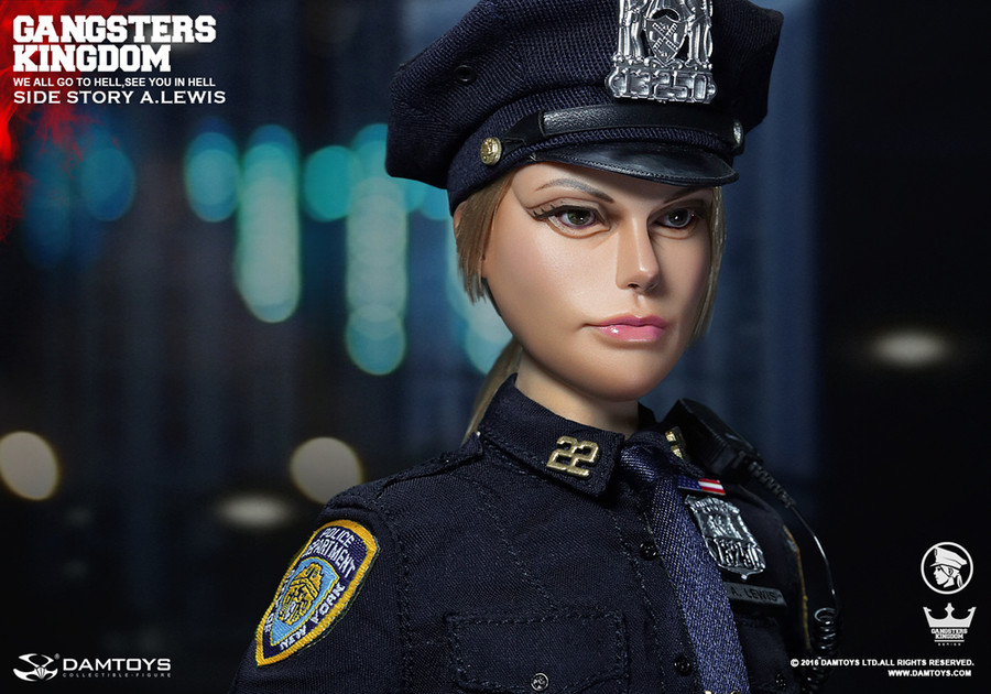 Dam Toys - Gangsters Kingdom - Side Story - Officer A. Lewis