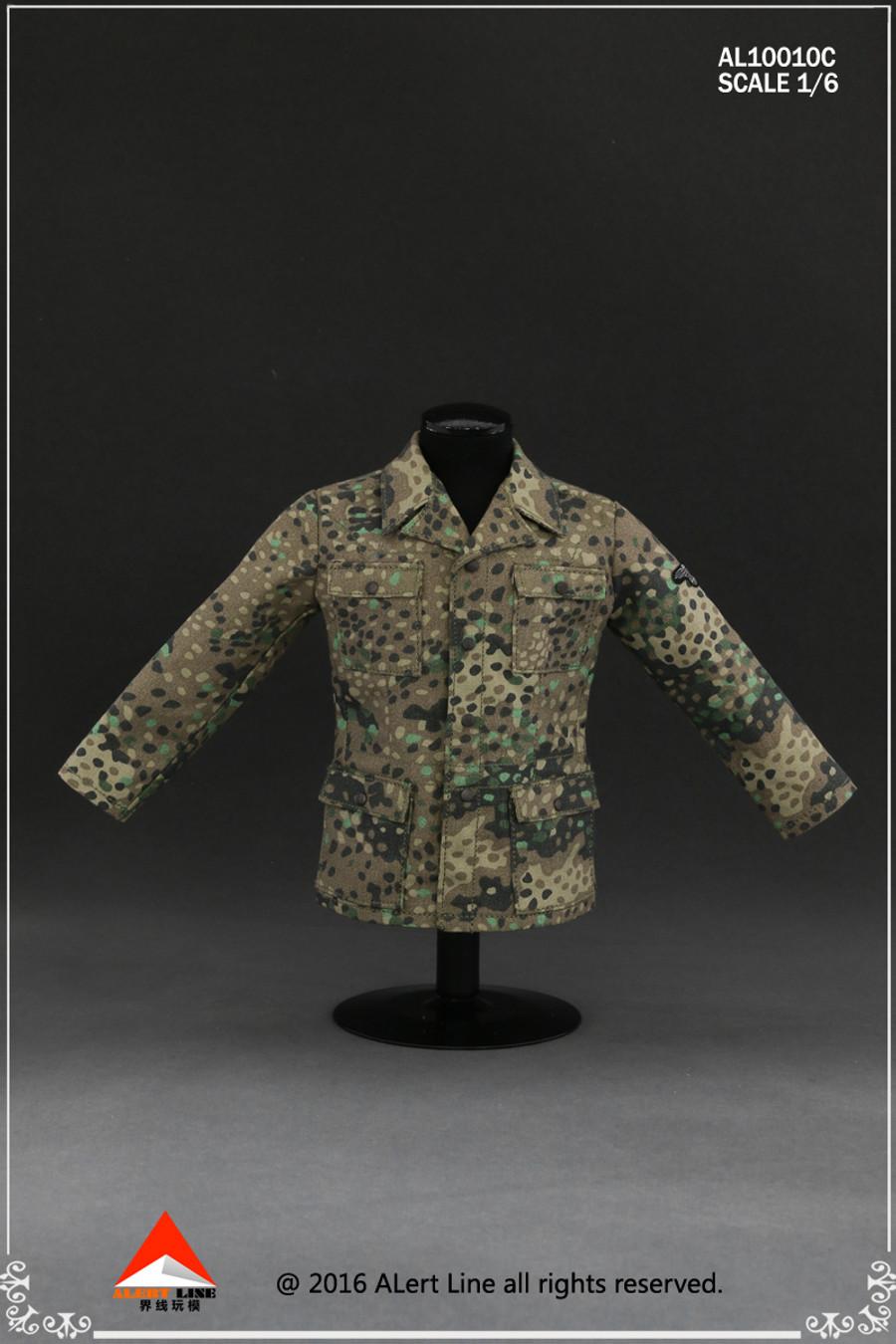 Alert Line - Wehrmacht Camouflage Uniform Suit - Pea Pattern