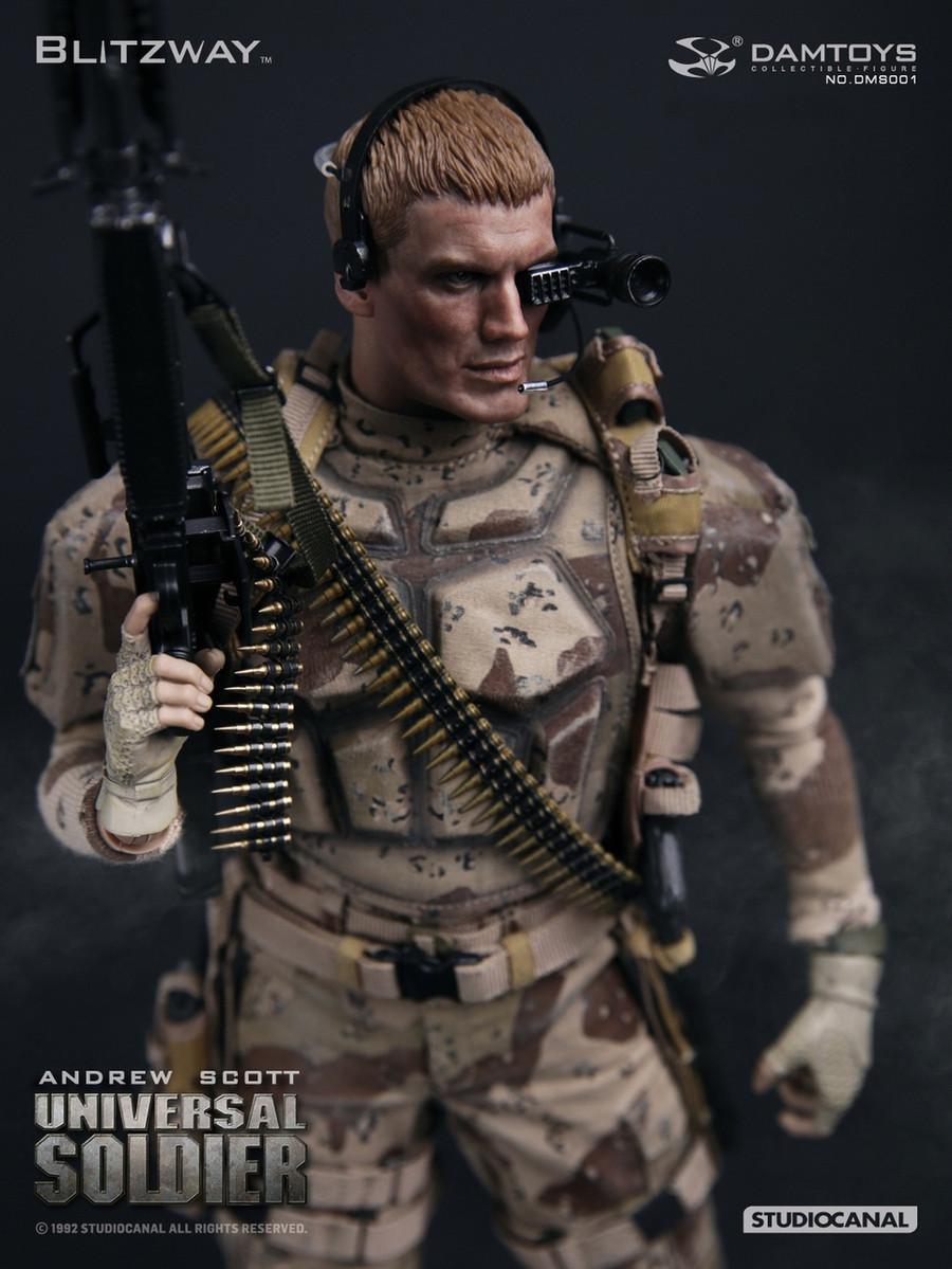 Dam Toys x Blitzway - Universal Soldier - Andrew Scott
