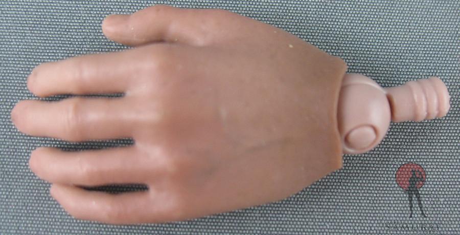 Hot Toys - Hand - Caucasian - Left Hand Idle