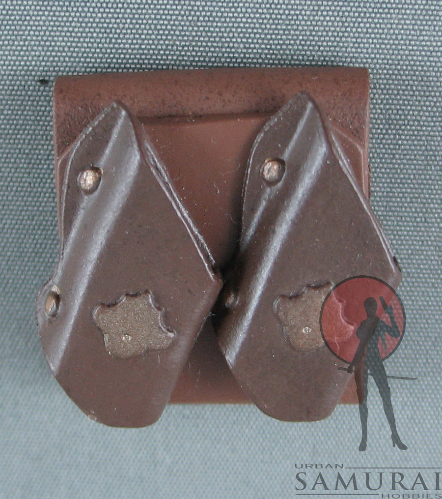 Other - Knife Sheath - Dual - Belt Loop - Brown