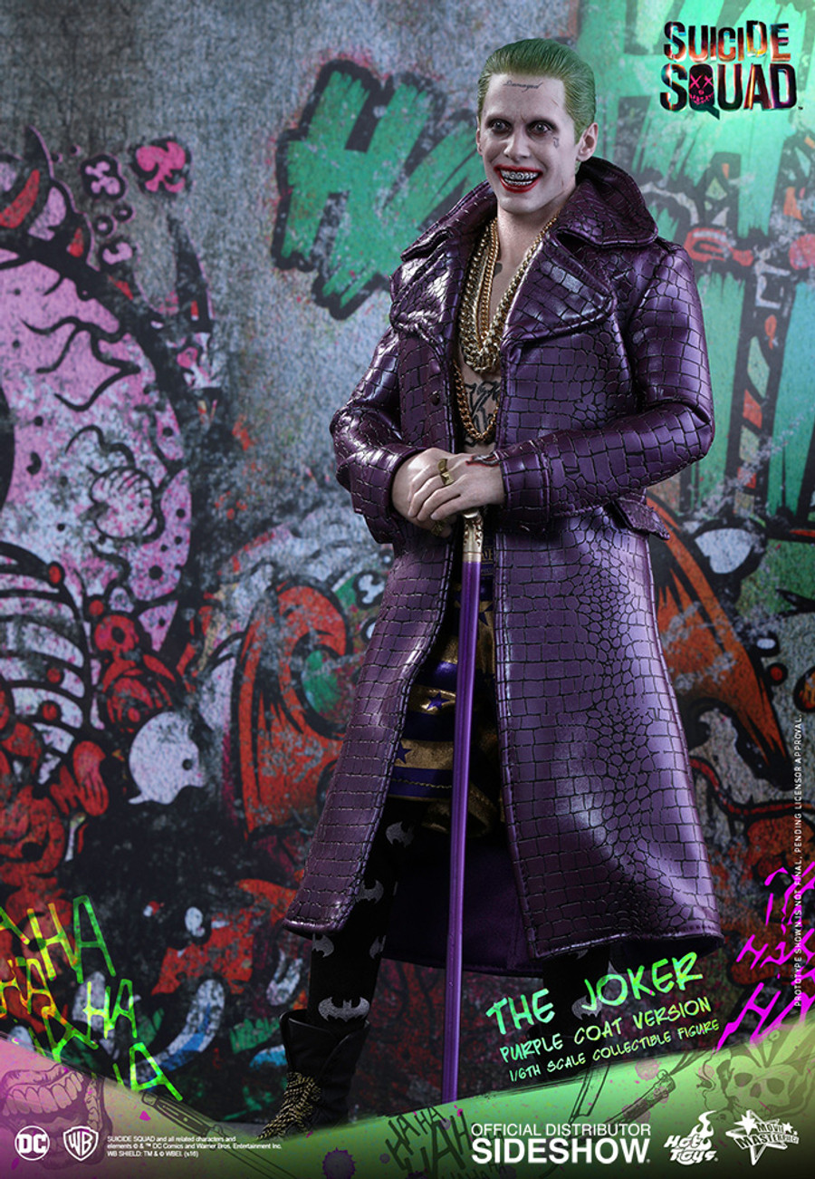 Hot Toys - Suicide Squad - The Joker Purple Coat Version