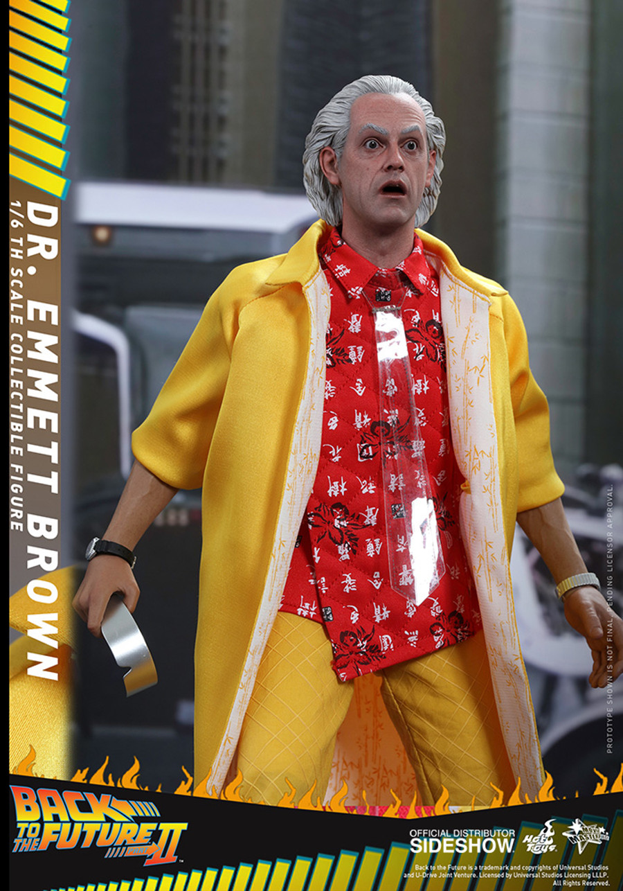 Hot Toys - Back To The Future Part II: Dr Emmett Brown