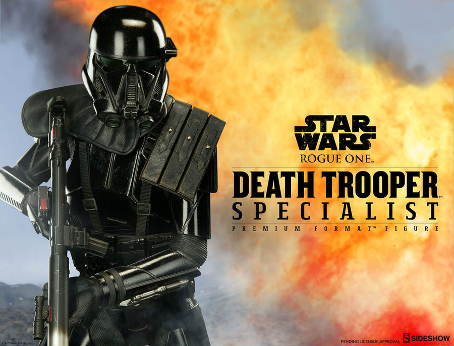 Sideshow - Star Wars: Rogue One - Death Trooper Specialist - Premium Format