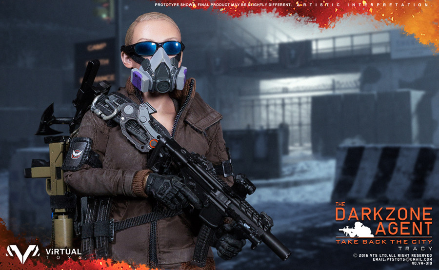 VTS Toys - The Darkzone Agent TRACY