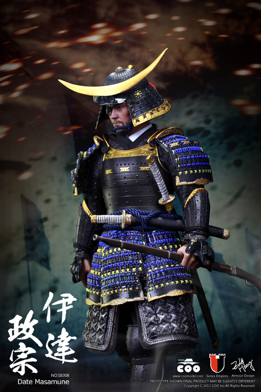 COO Model - Series Of Empires - Date Masamune