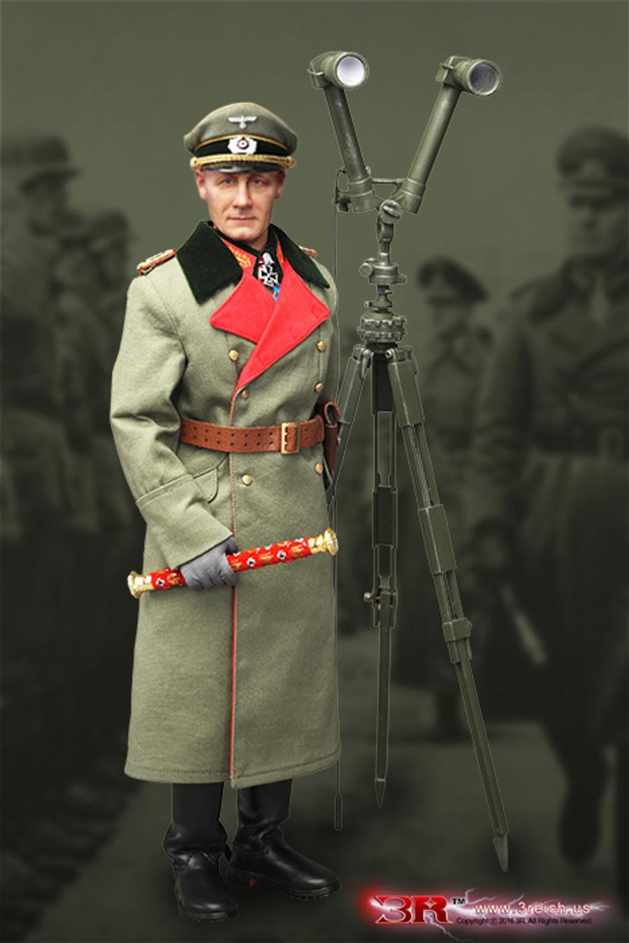 3R - Erwin Rommel - Generalfeldmarschall Atlantic Wall 1944