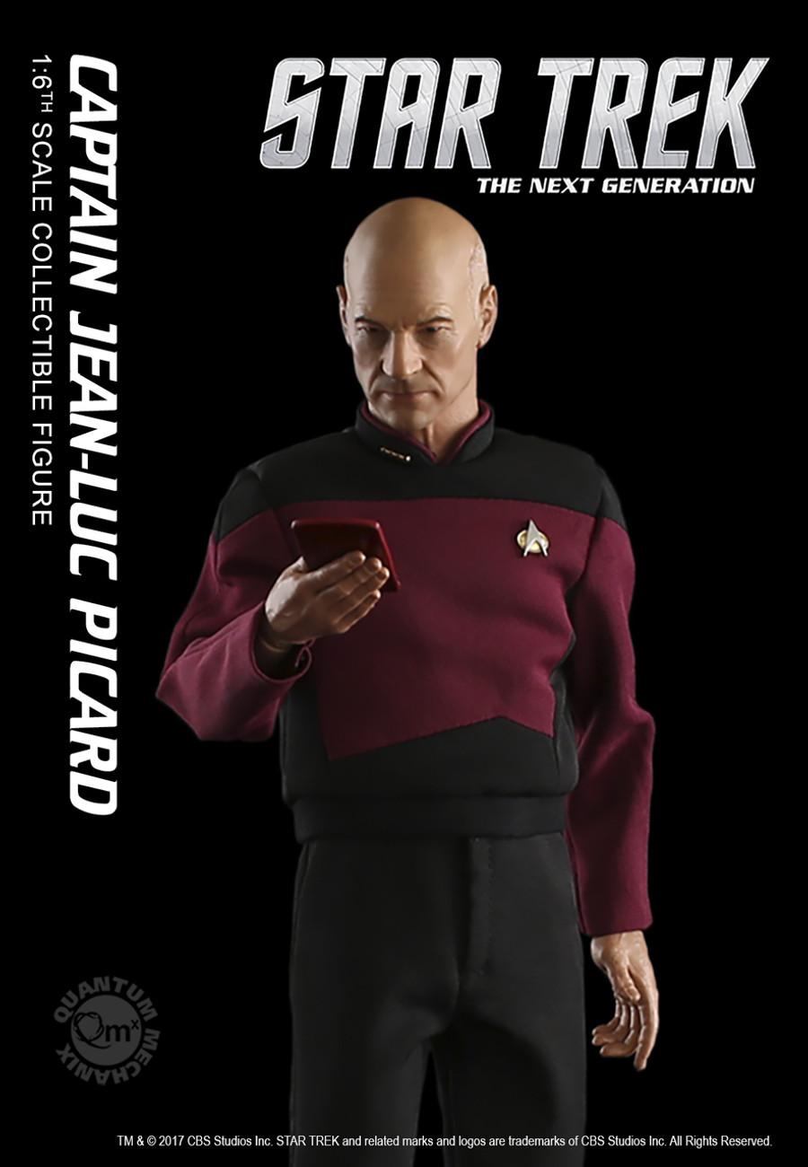 Quantum Mechanix - Star Trek The Next Generation - Captain Jean-Luc Picard