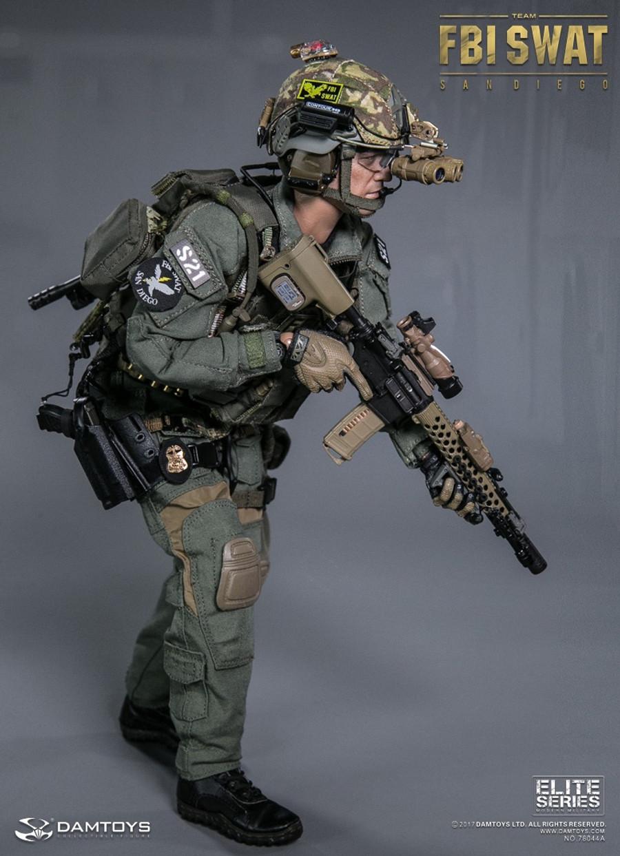 DAM Toys - FBI SWAT Team Agent - San Diego