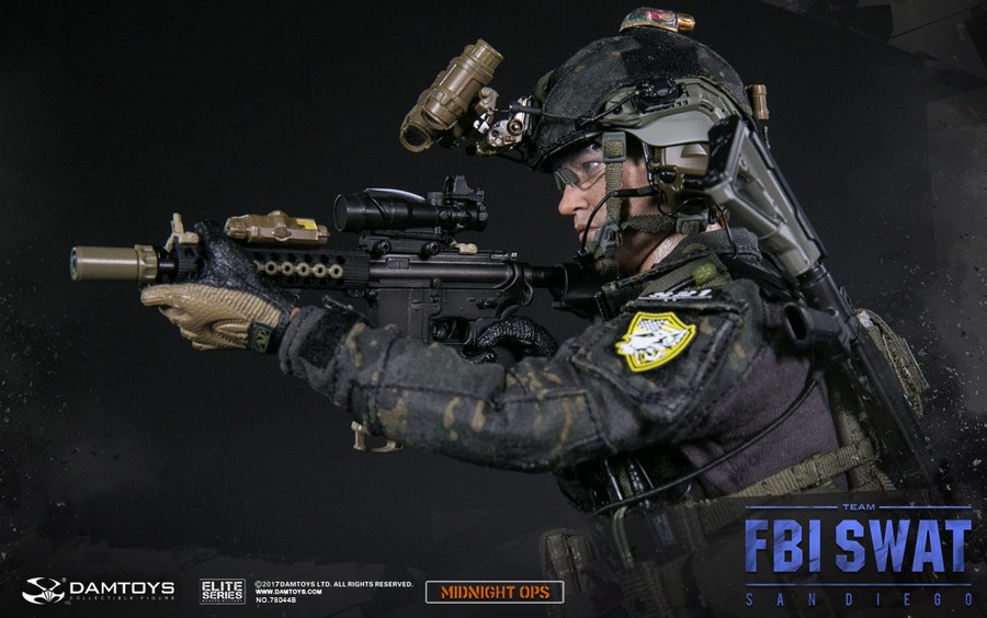 DAM Toys - FBI SWAT Team Agent - San Diego Midnight Ops