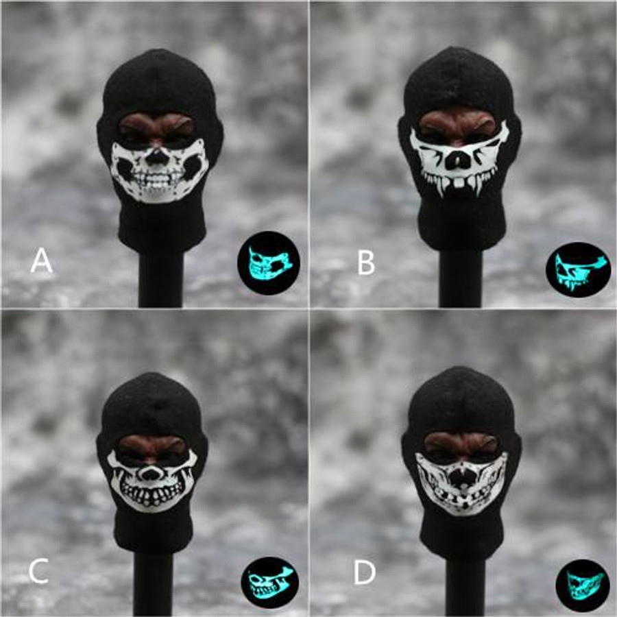 Other - Luminous Skull Balaclava