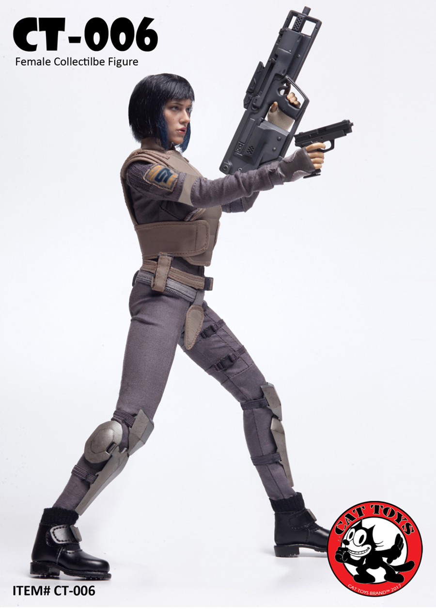 Cat Toys - MOTOKO Female Collectible Figure