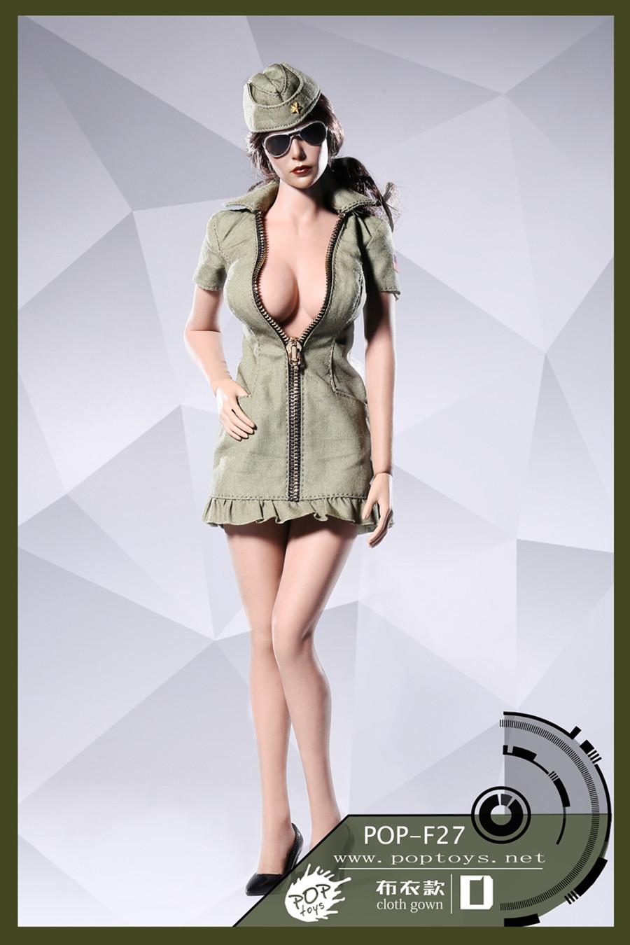 Pop Toys - Sexy War Women Suit Cloth Version