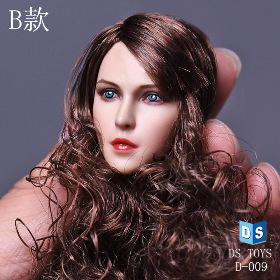 DS Toys - Caucasian Female Head Sculpt