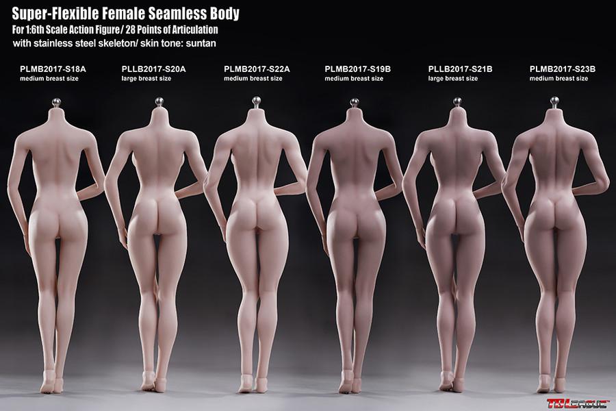 Phicen - Super Flexible Seamless Female Body - S23B