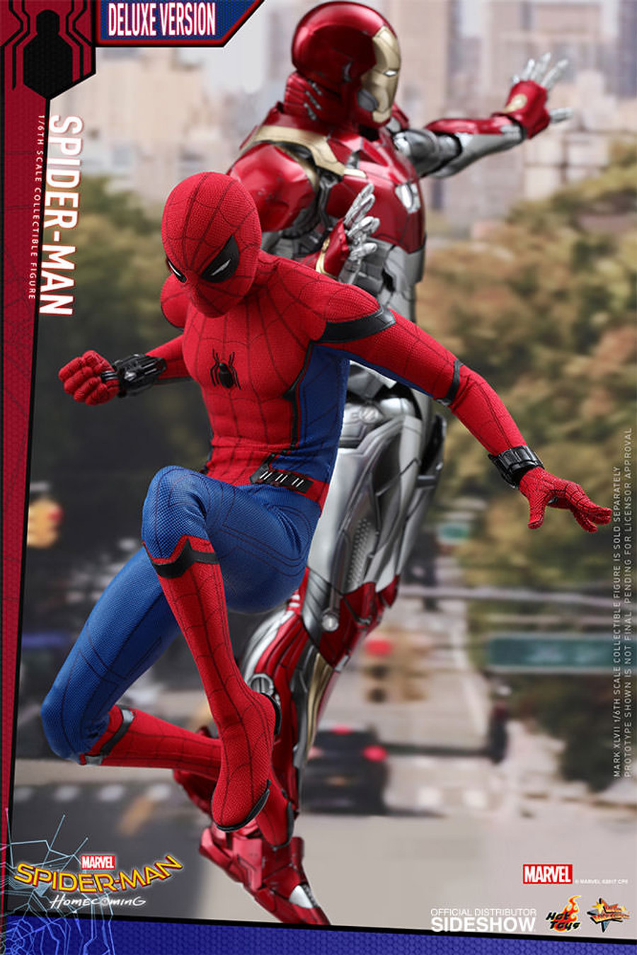 Hot Toys - Spider-Man: Homecoming Deluxe Version