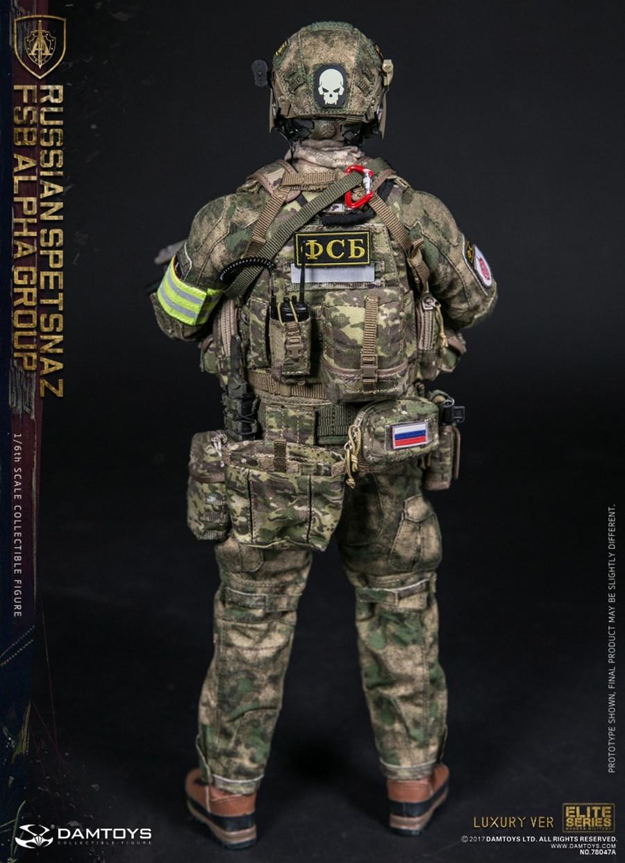 Dam Toys - Russian Spetsnaz FSB Alpha Group Luxury Version