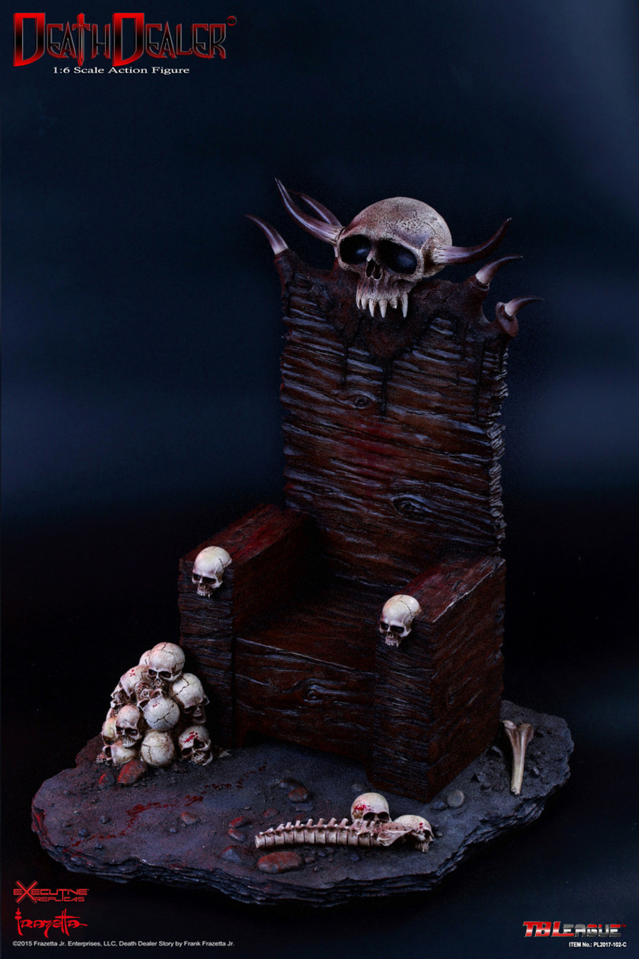 Phicen - Hell on Earth (Death Dealer 2nd. Version) - C - Throne and Base