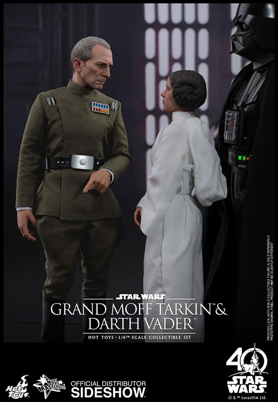Hot Toys - Star Wars: A New Hope - Grand Moff Tarkin and Darth Vader