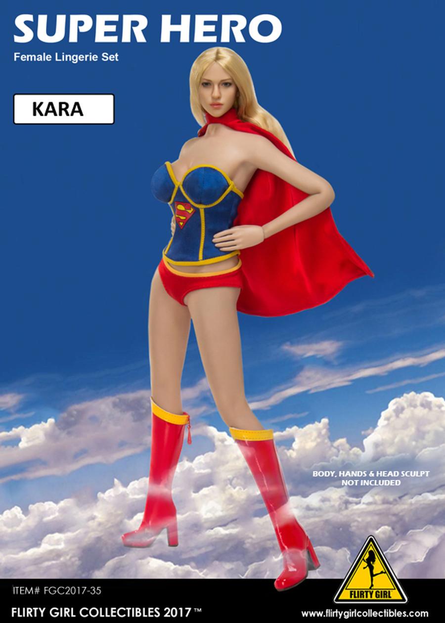 Flirty Girl - Super Hero - Kara