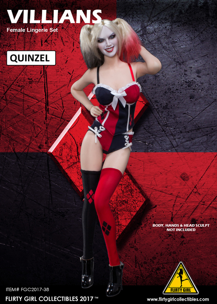 Flirty Girl - Villain - Quinzel