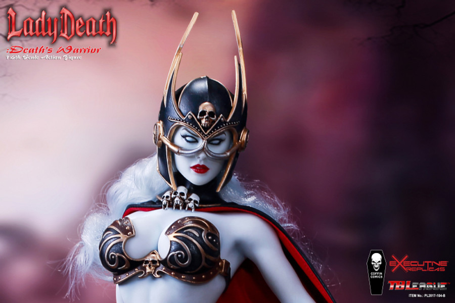 TBLeague - Lady Death: Death's Warrior V2 - Action Figure Only (Formerly Phicen)