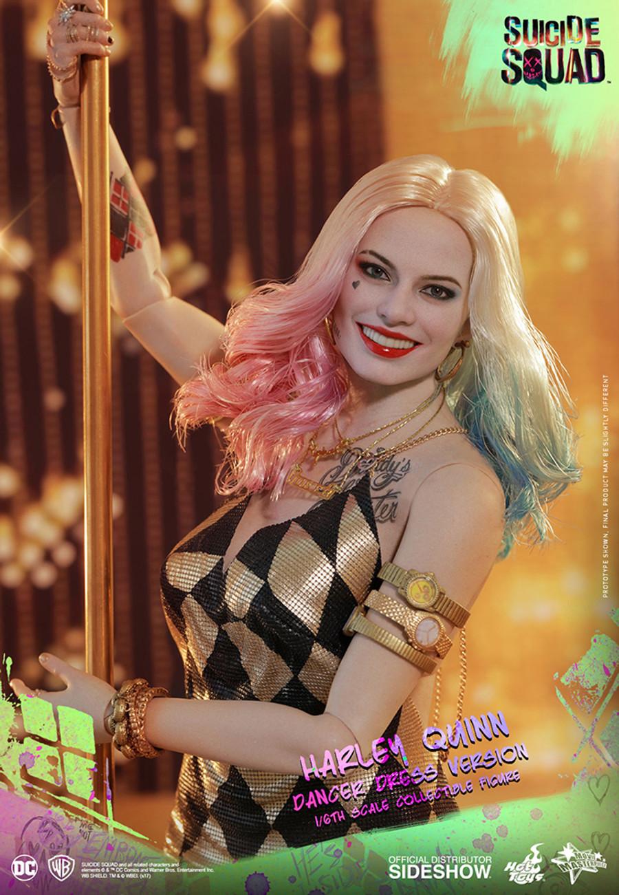 Hot Toys -  Suicide Squad: Harley Quinn Dancer Dress Version - Movie Masterpiece Series