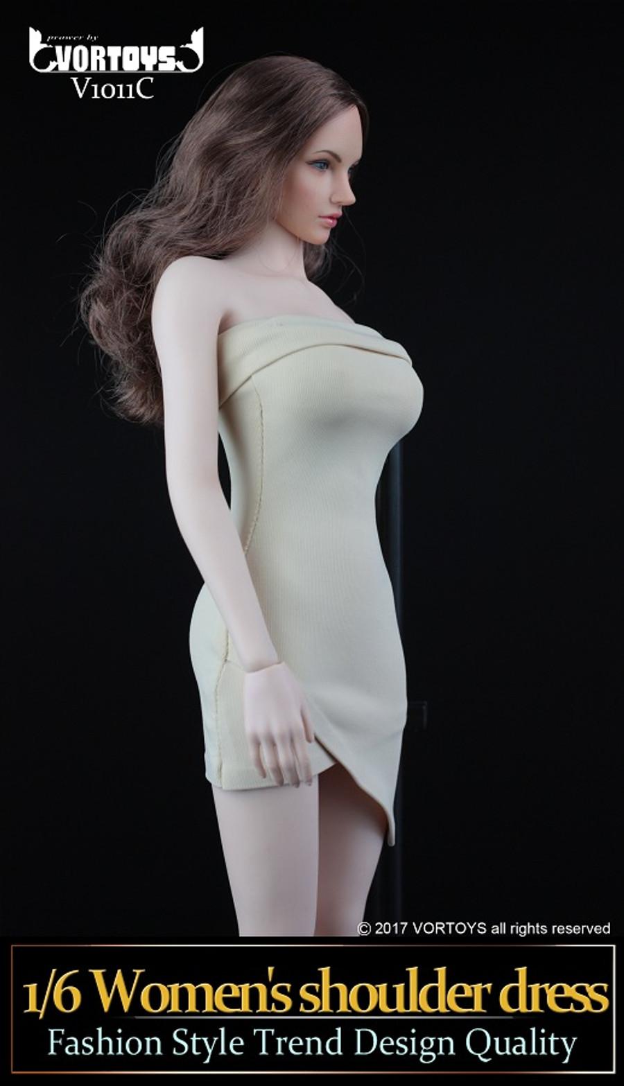 Vortoys - Women's Shoulder Dress