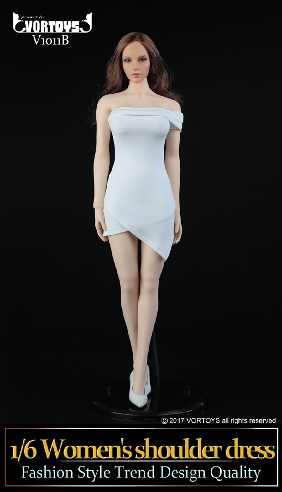 Vortoys - Women's Shoulder Dress
